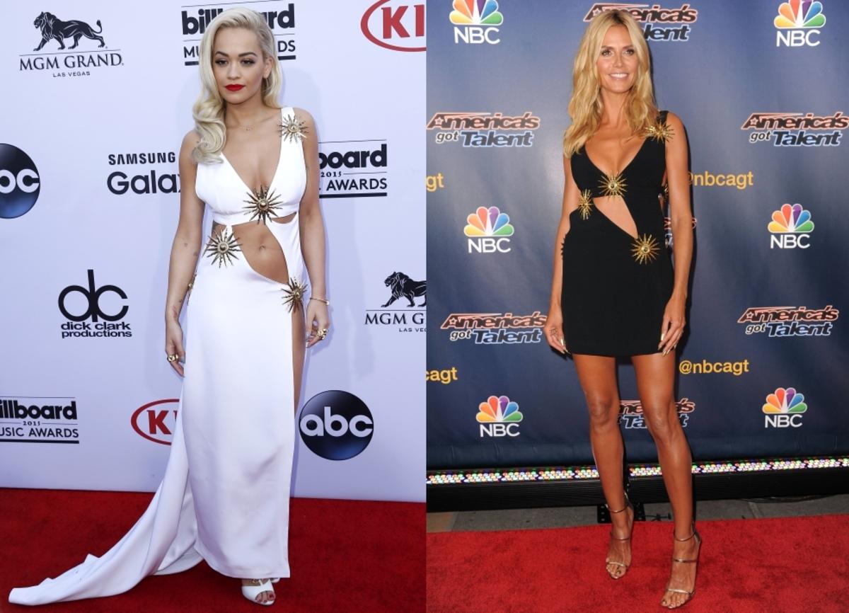 Fashion battle: Рита Ора и Хайди Клум