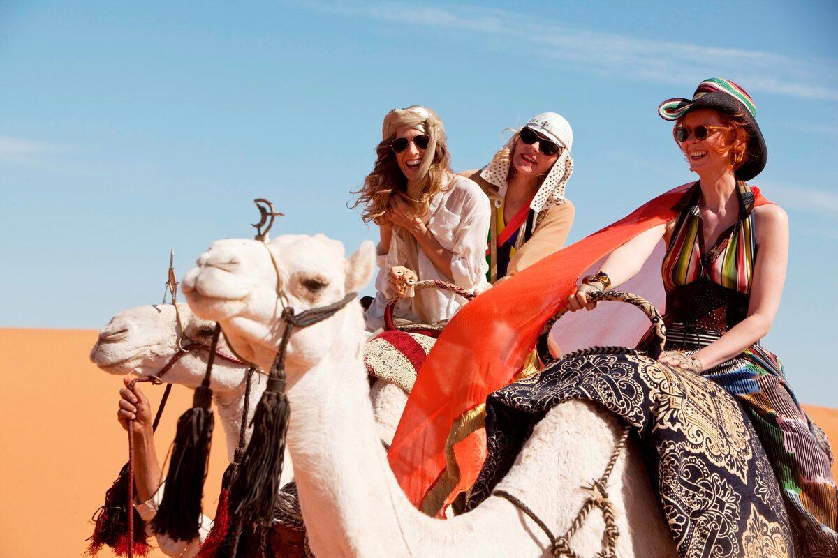 Кэрри Брэдшоу не узнали в Марокко