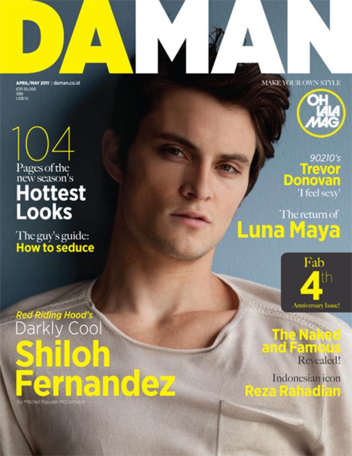 Шайло Фернандес в журнале Daman
