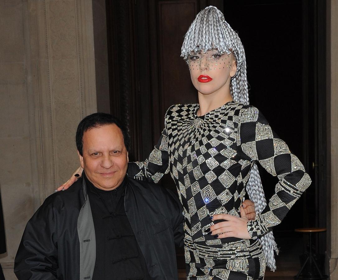 Lady GaGa на показе Azzedine Alaia