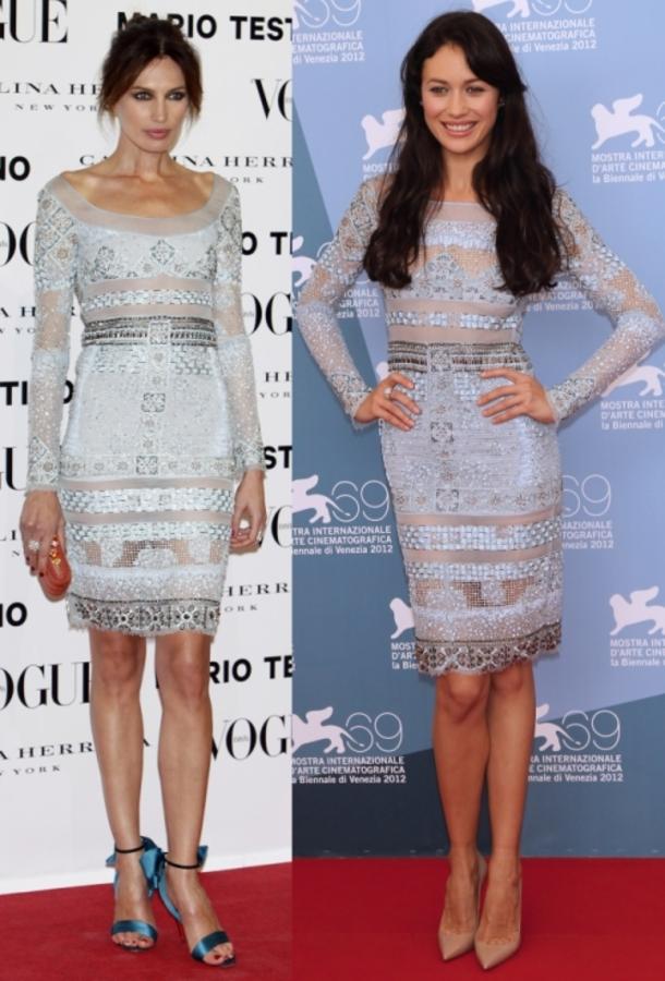 Fashion battle: Ньевес Альварес и Ольга Куриленко