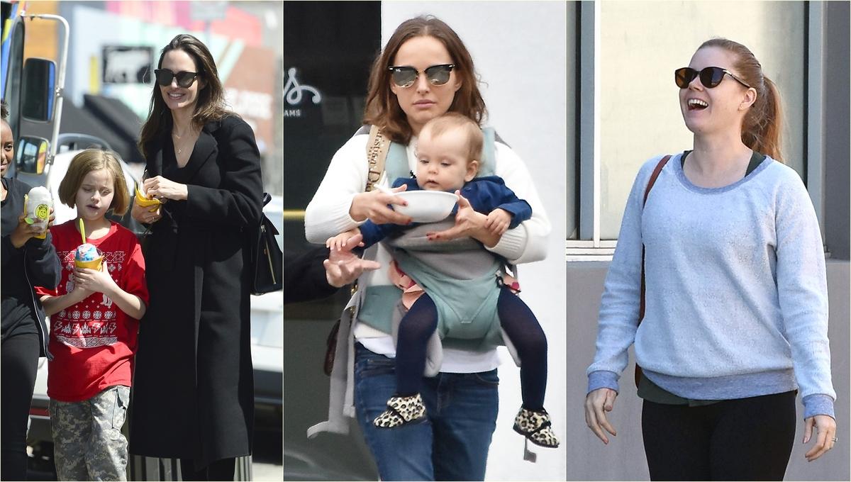Стоп-кадр: Анджелина Джоли, Натали Портман, Кира Найтли и другие звезды
