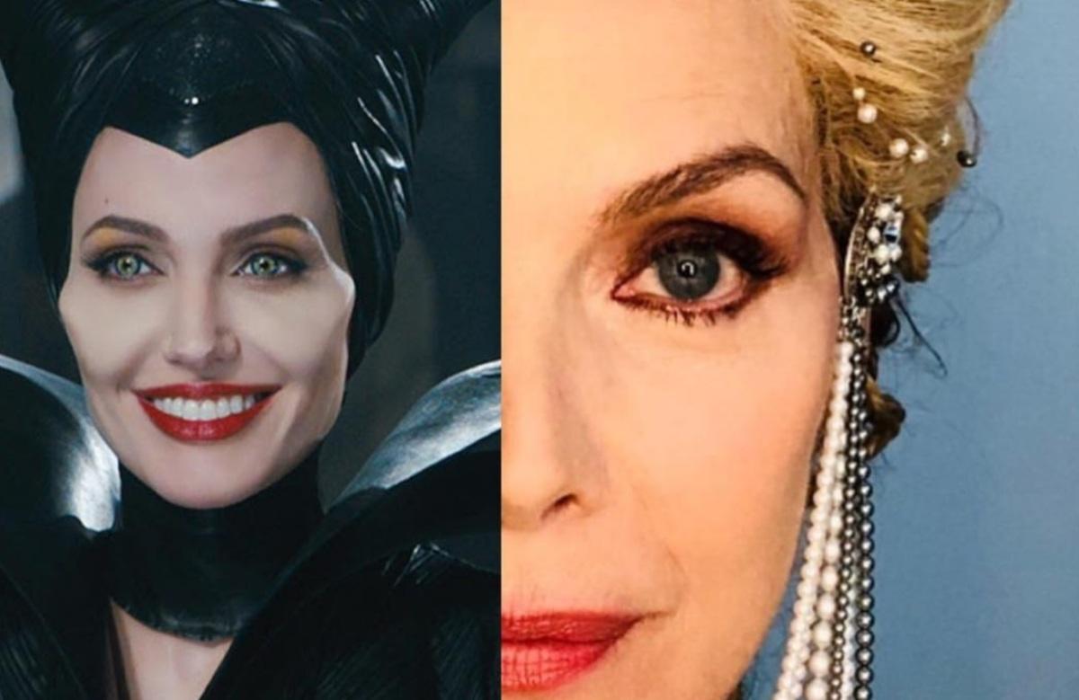 Первое фото: Мишель Пфайффер в образе королевы в «Малефисенте 2»