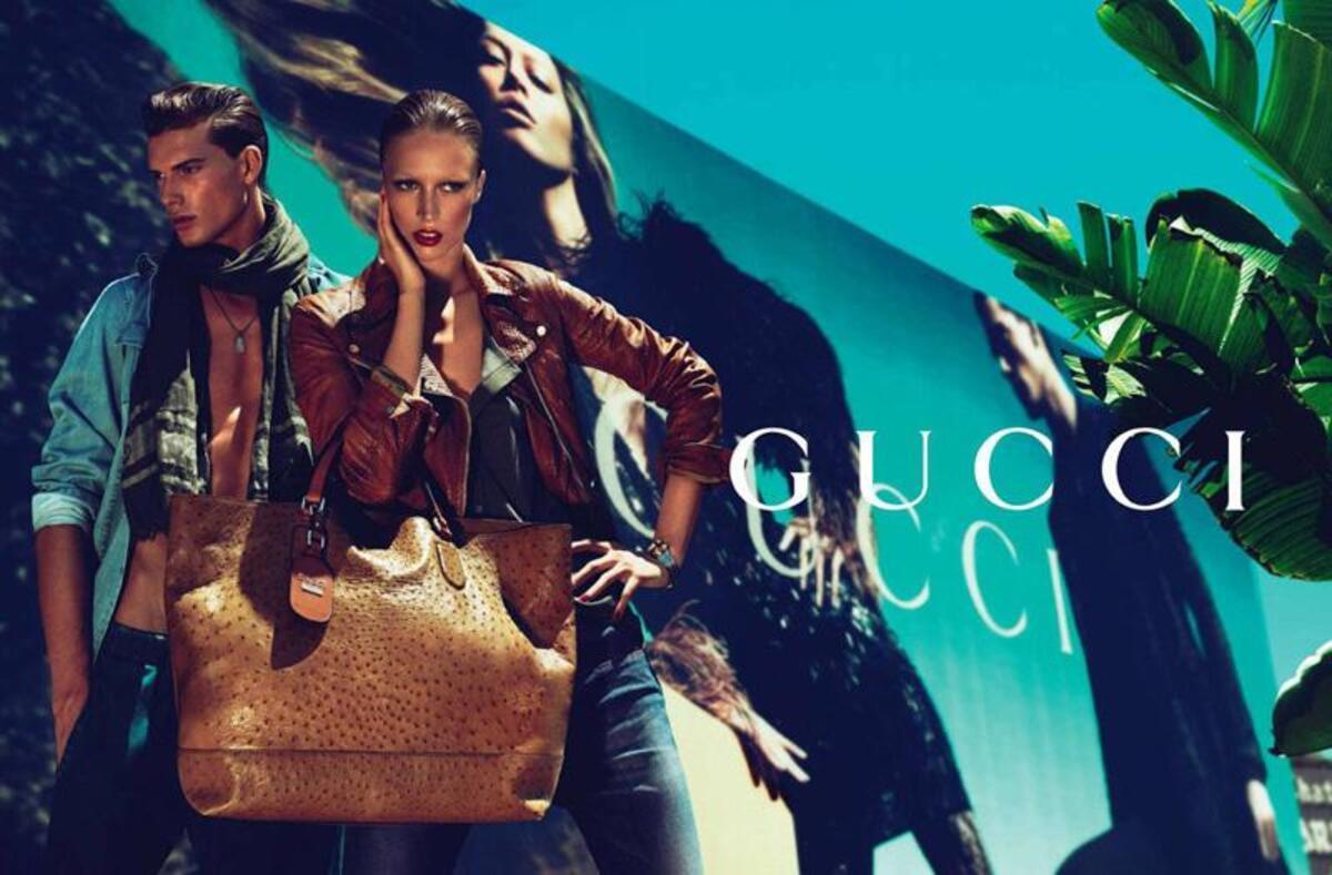 Реклама коллекции 2011 Gucci Cruise