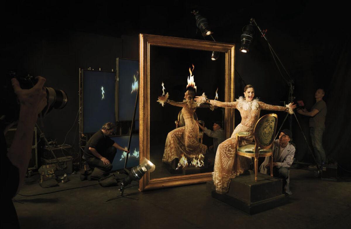 Дрю Бэрримор в журнале Harper's Bazaar: о сексуальности и Голливуде