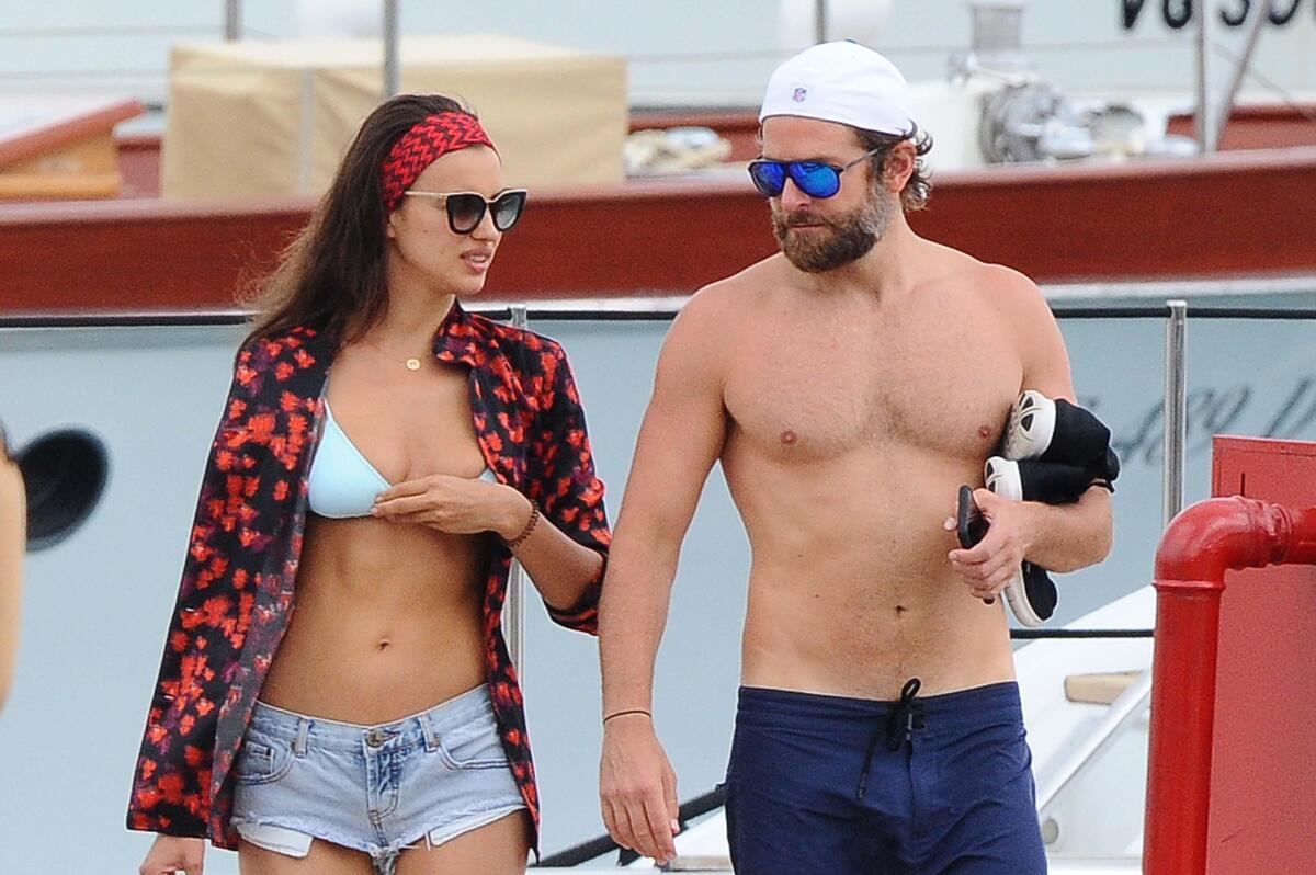 Брэдли Купер и Ирина Шейк отдыхают на Сардинии
