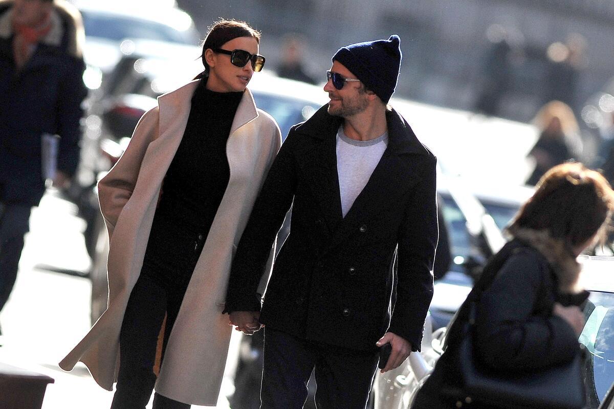 Брэдли Купер и Ирина Шейк на романтическом свидании в Париже