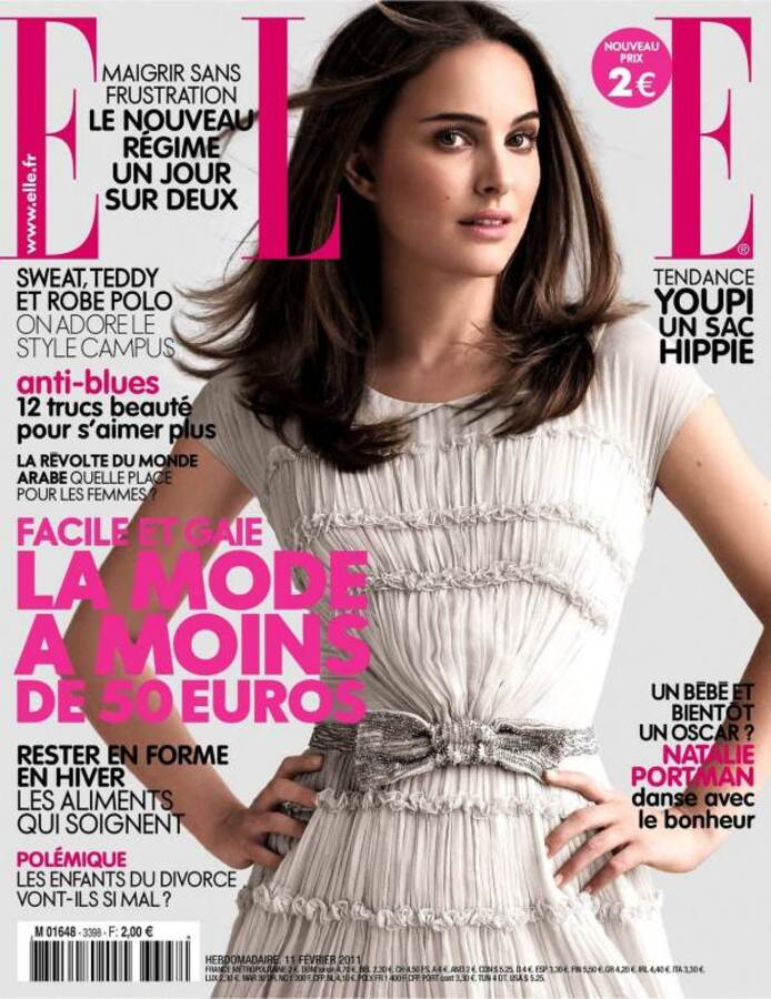 Натали Портман для журнала Elle. Франция. Февраль 2011