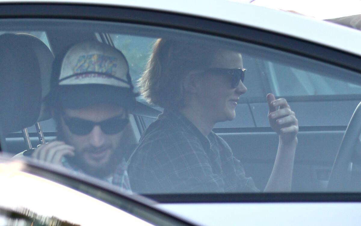 Кэри Маллиган и Том Старридж в Лос-Анджелесе