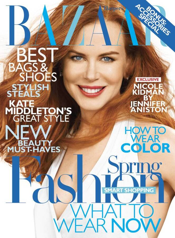 Николь Кидман в журнале Harper's Bazaar US. Февраль 2011