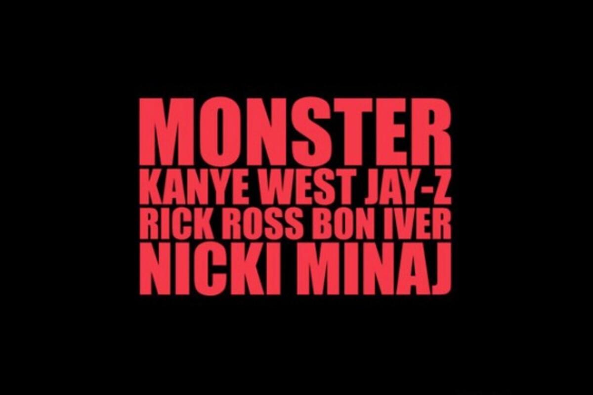 Клип Кани Веста, Рика Росса, Jay-Z, Ники Минаж и Bon Iver- Monster Music