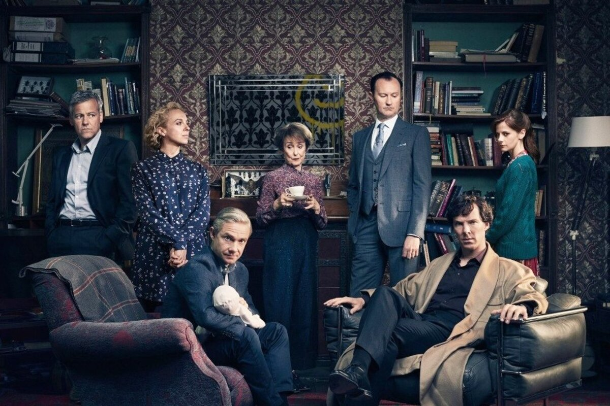 В сети появились новые видео со съемок 4 сезона «Шерлока»