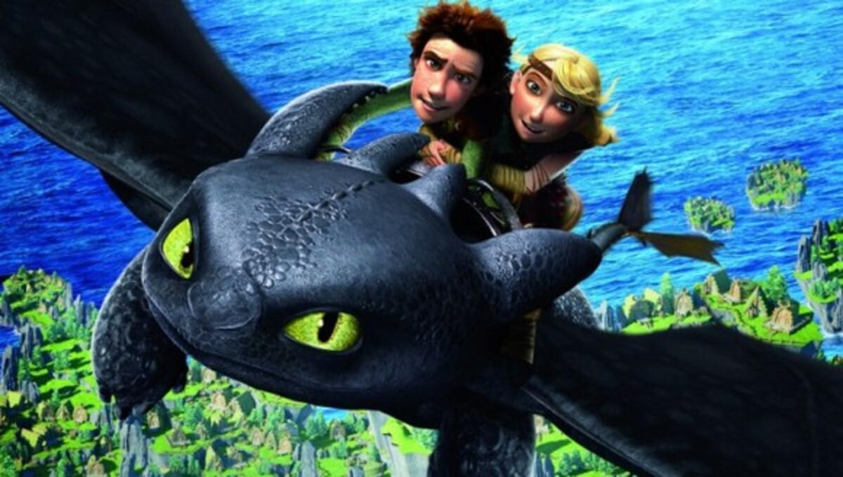 Dreamworks выпустит продолжение «Как приручить дракона» в 2013 году