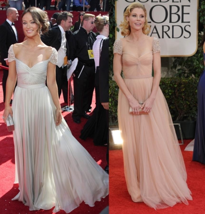 Fashion battle: Оливия Уайлд и Джули Боуэн