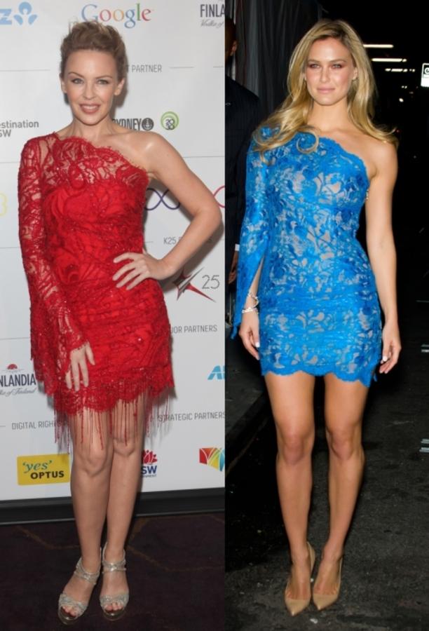 Fashion battle: Кайли Миноуг и Бар Рафаэли