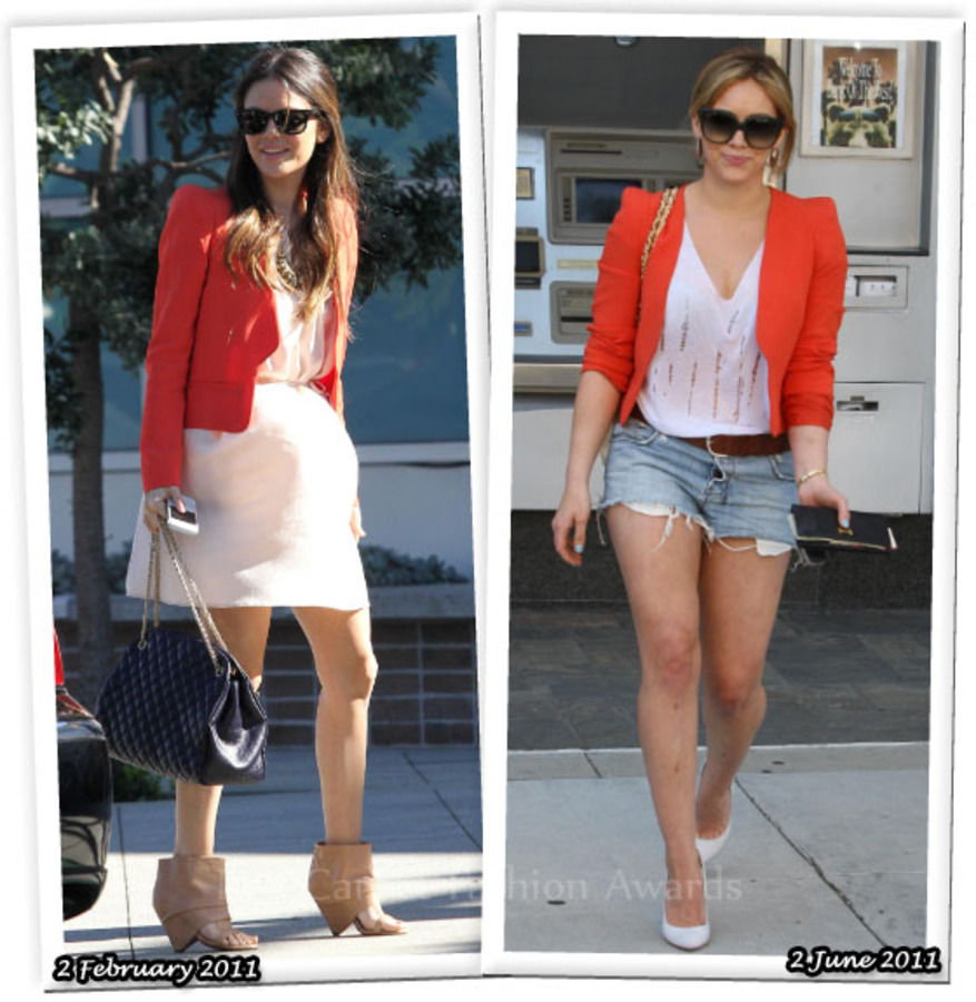 Fashion Battle: Рэйчел Билсон и Хилари Дафф