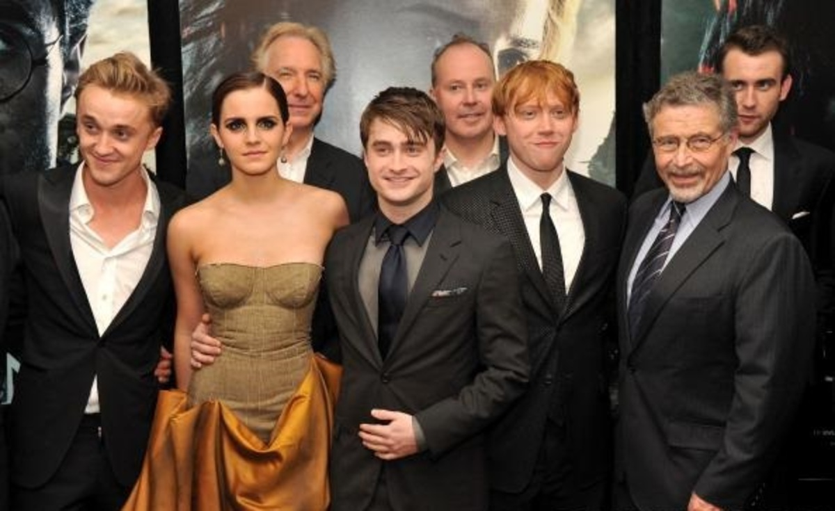 Эмма Уотсон по-прежнему дружит с коллегами по «Гарри Поттеру»