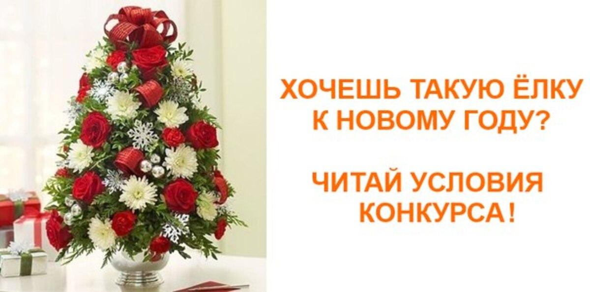 Конкурс: выиграй дизайнерскую елку к Новому году