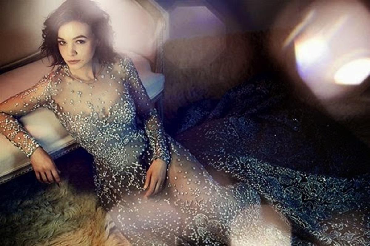 Updated: Кэри Маллиган в журнале Harper's Bazaar Великобритания. Декабрь 2014