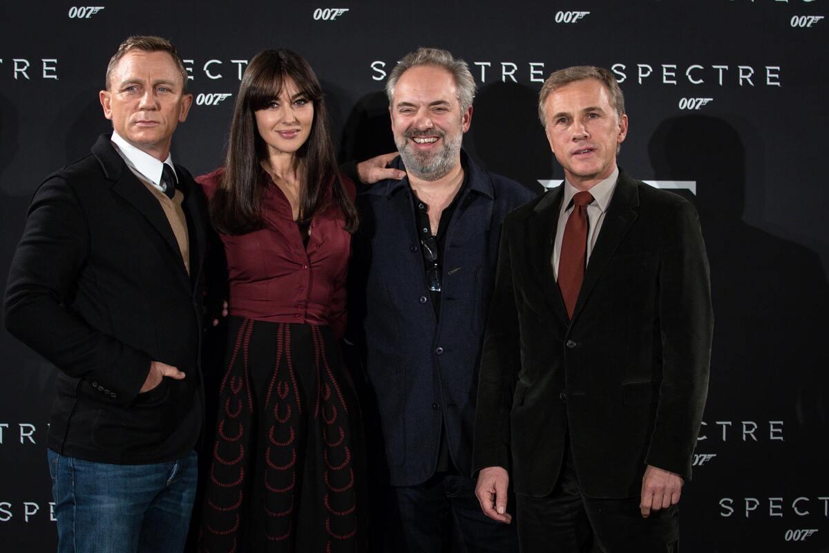Фотоколл и премьера фильма «007: Спектр» в Риме
