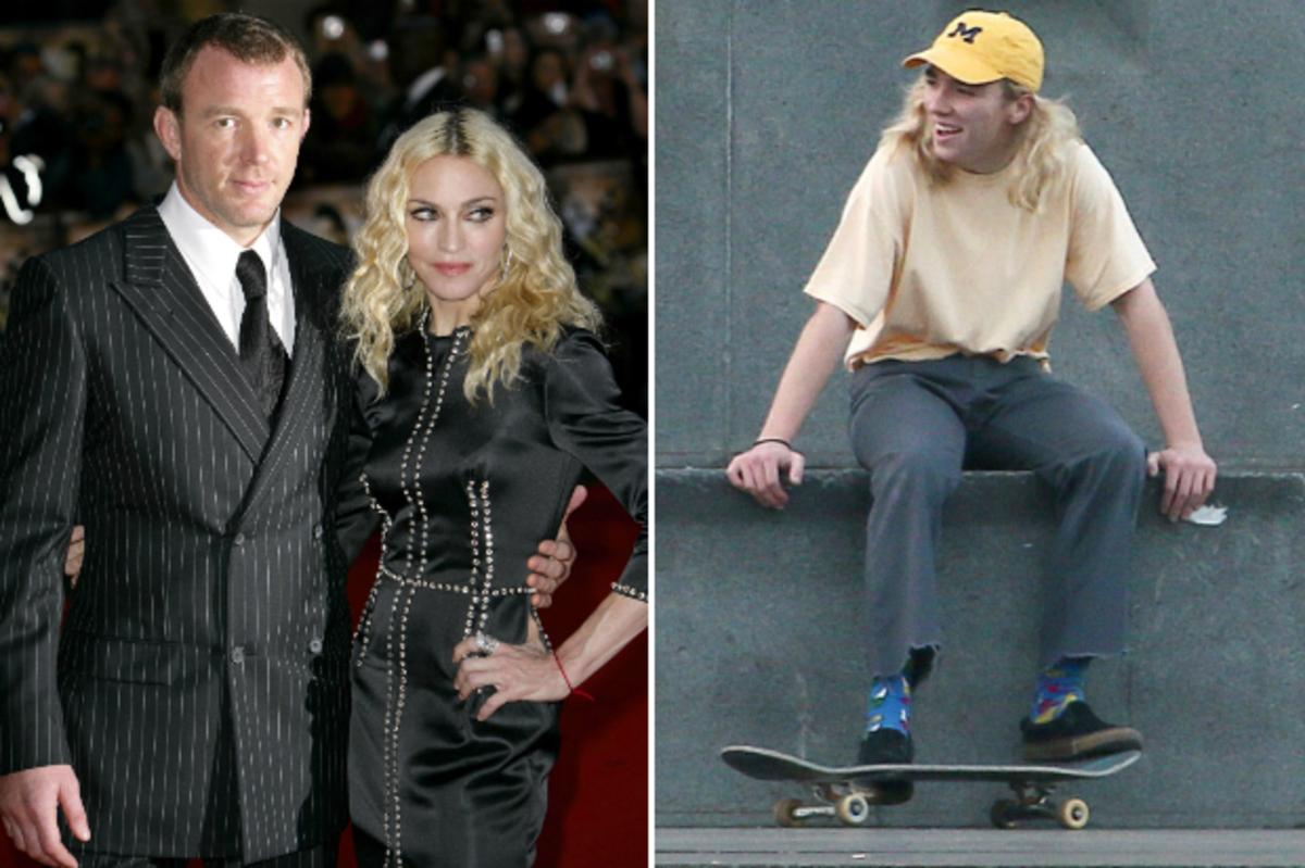 Мадонна и Гай Ричи будут бороться за 15-летнего сына в суде