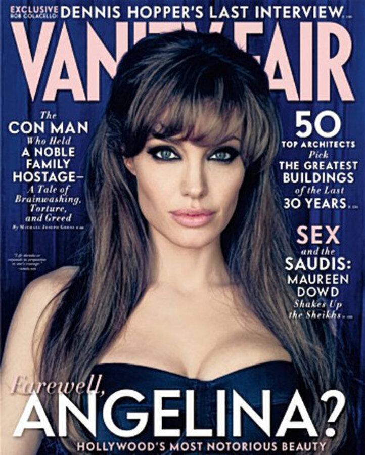 Анджелина Джоли о семье, браке и карьере в интервью Vanity Fair
