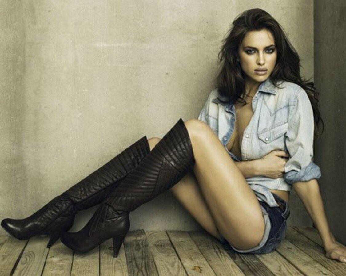 Ирина Шейк для рекламной кампании XTI Footwear Осень / Зима 2011
