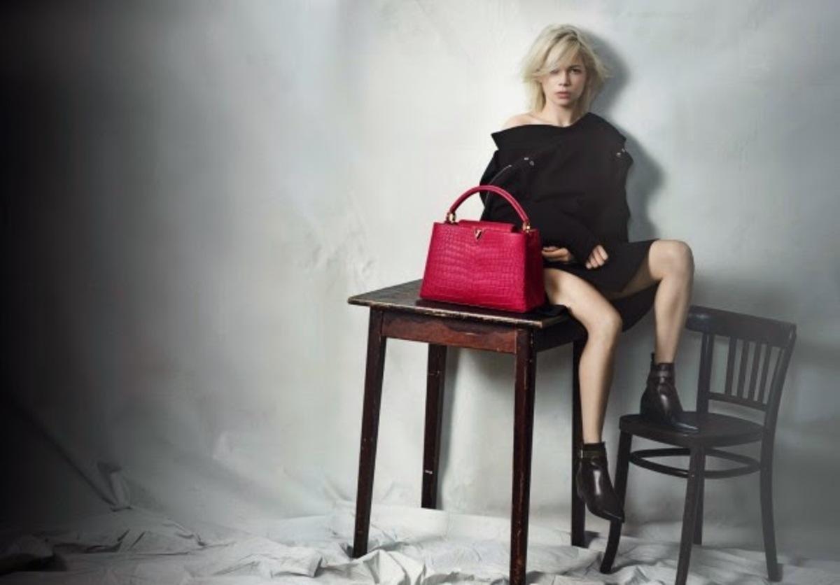 Мишель Уильямс снялась в новой рекламной кампании Louis Vuitton. Весна / лето 2015