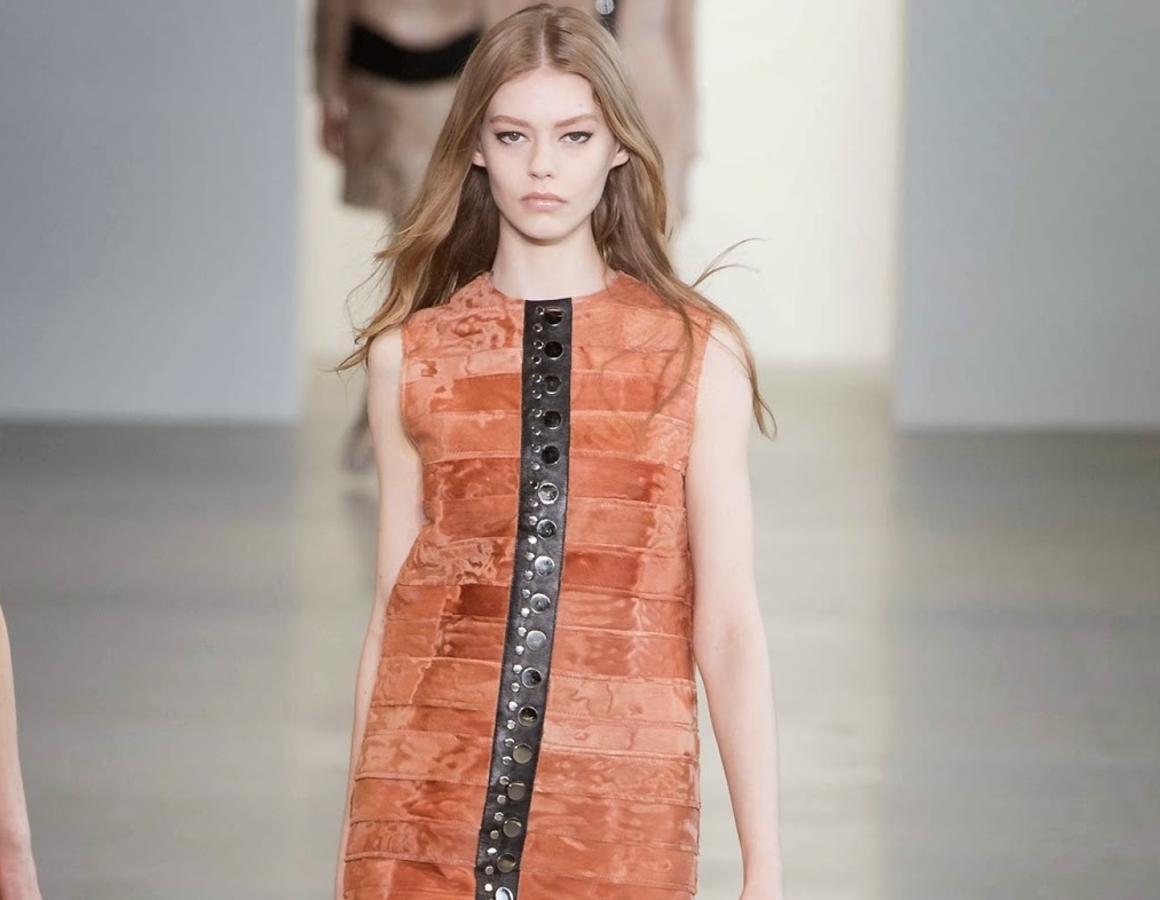 Модный показ новой коллекции Calvin Klein. Осень / зима 2015-2016