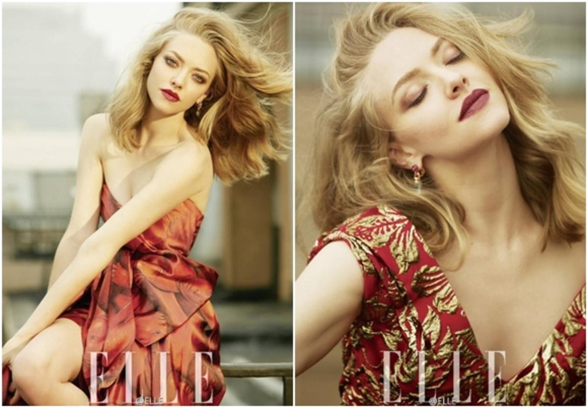 Аманда Сайфред в романтичной фотосессии для Elle Chine, сентябрь 2016