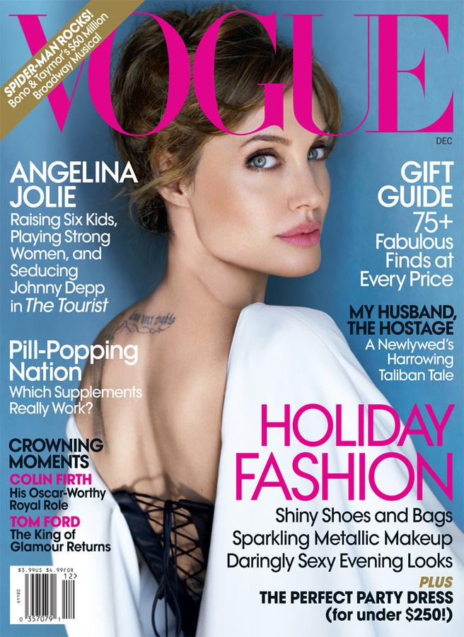 Анджелина Джоли дала подробное интервью журналу Vogue