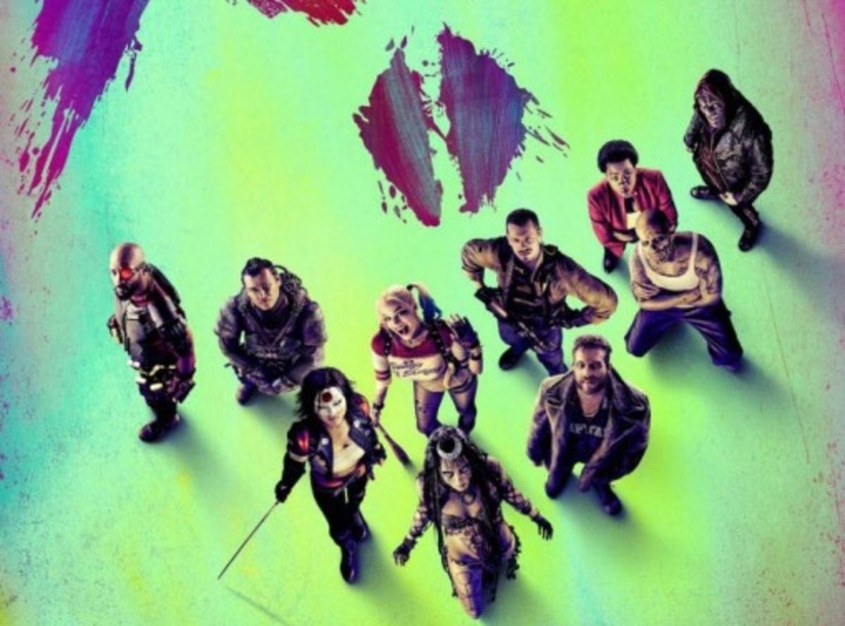 Новый трейлер и постеры фильма «Отряд самоубийц»