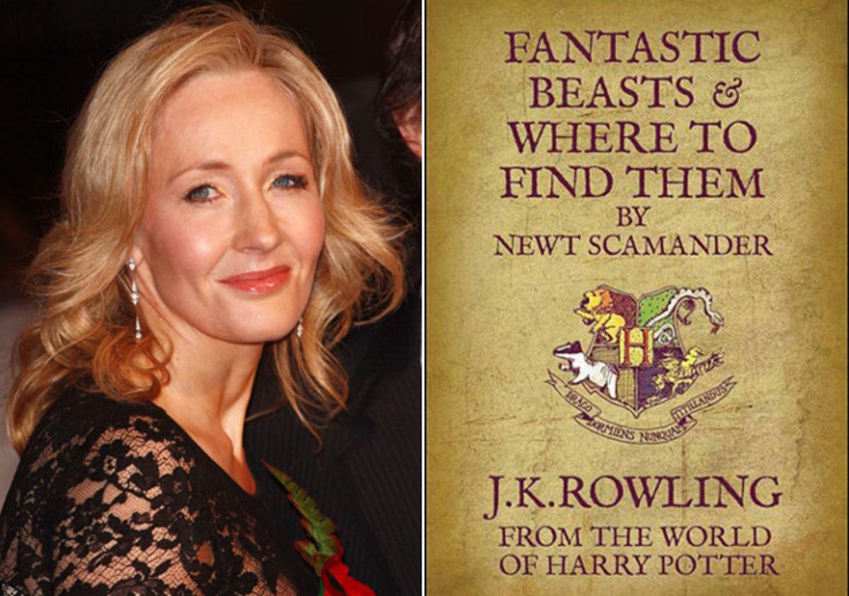 Джоан Роулинг написала сценарий к экранизации «Фантастических зверей»