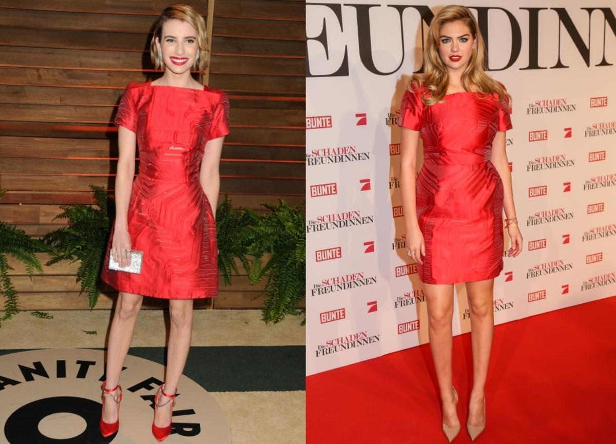 Fashion battle: Эмма Робертс и Кейт Аптон