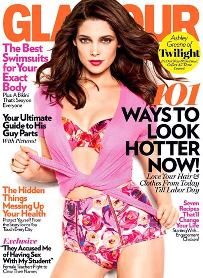 Эшли Грин в журнале Glamour US. Май 2011