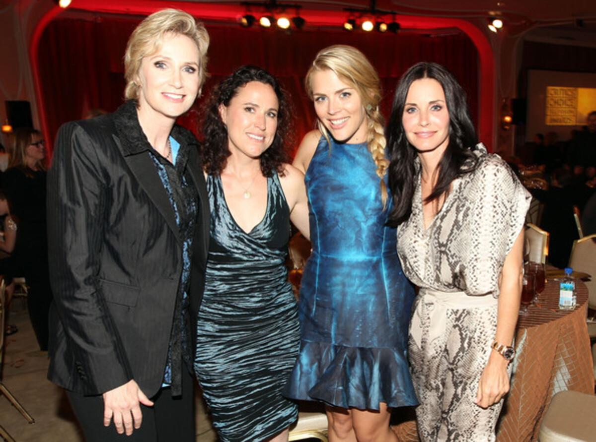 Звезды на церемонии Critics' Choice Television Awards 2011