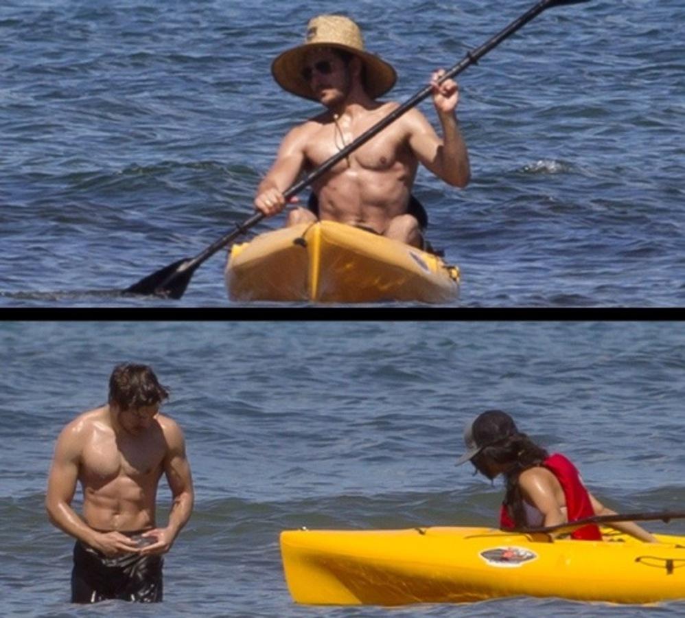 Зак Эфрон и Ванесса Хадженс: летние каникулы на море
