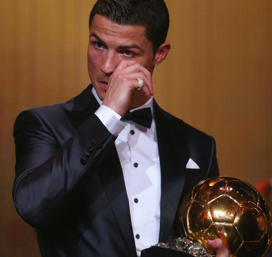 Криштиану Роналду получил «Золотой мяч ФИФА»