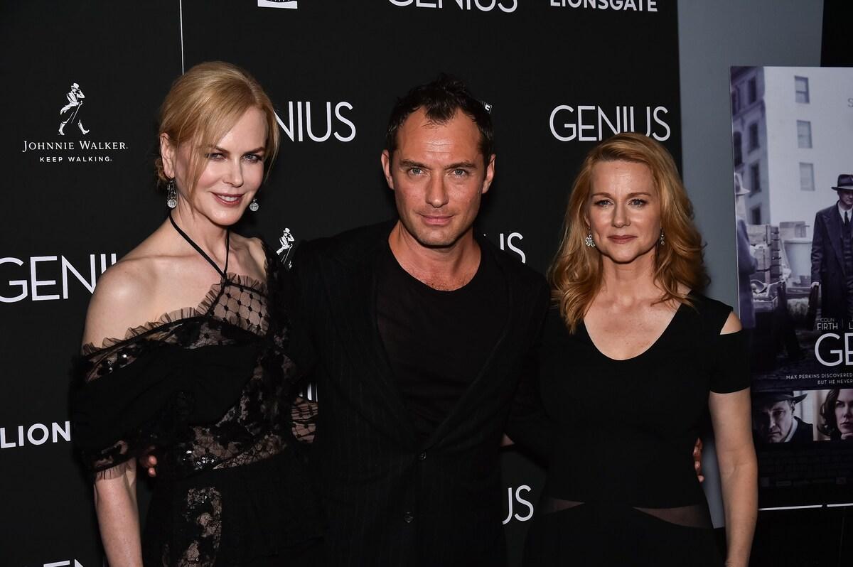 Звезды на премьере фильма «Гений» в Нью-Йорке