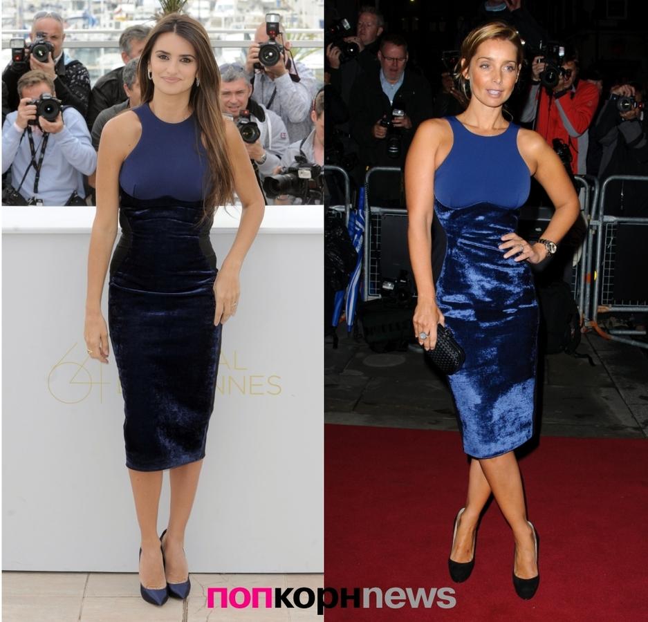 Fashion Battle: Пенелопа Крус и Луиза Реднапп