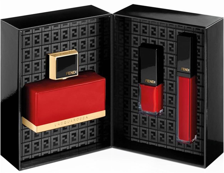 Дебютная коллекция косметики L'Acquarossa Red Essentials от Fendi