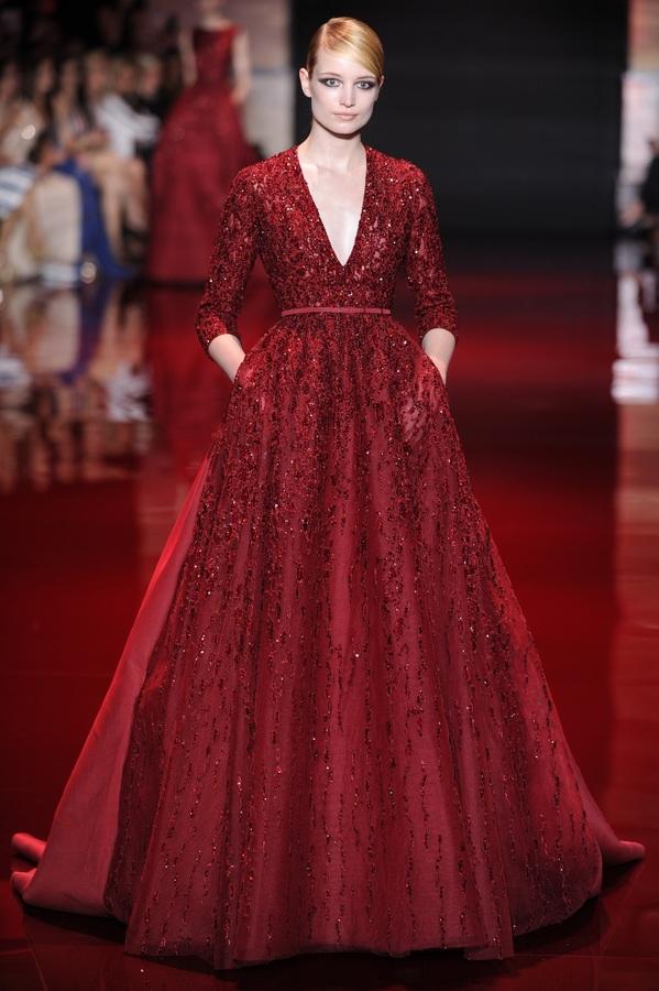 Модный показ Elie Saab Haute Couture. Осень / зима 2013-2014