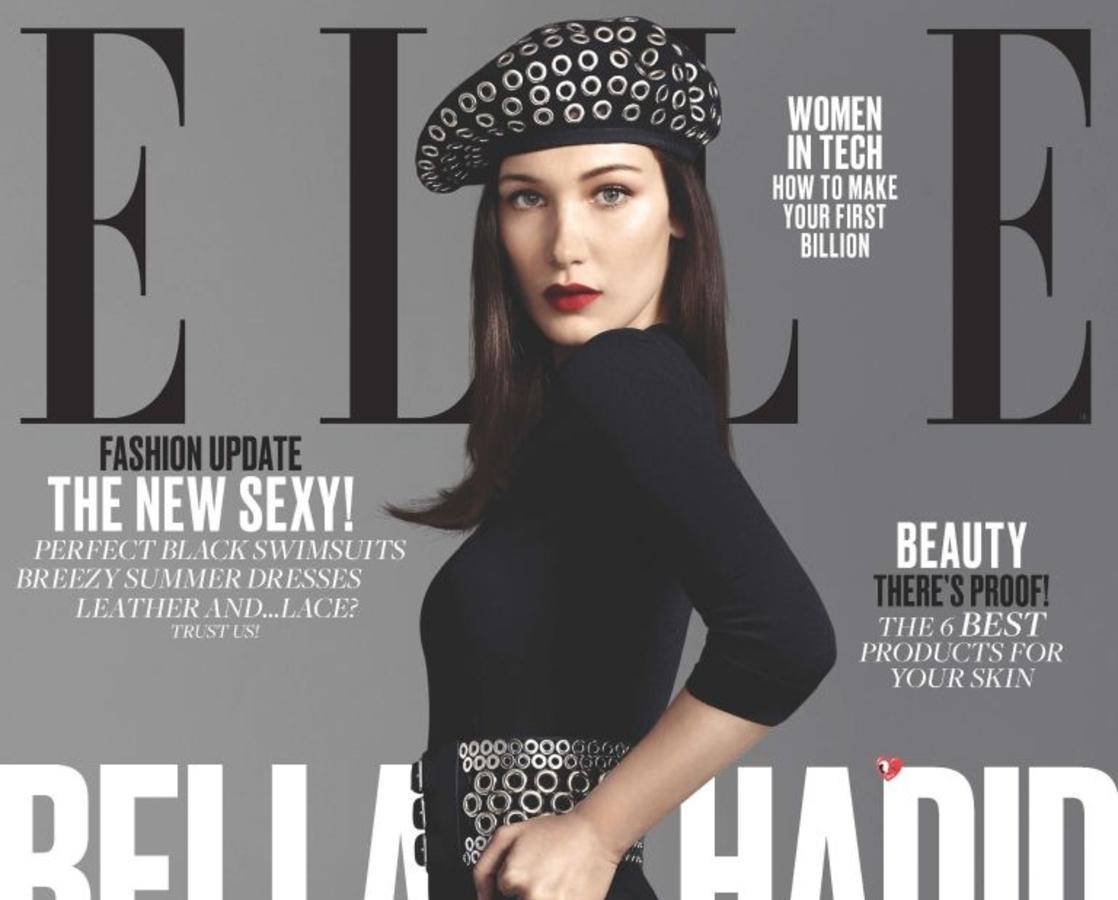 Белла Хадид в журнале Elle. Июнь 2016