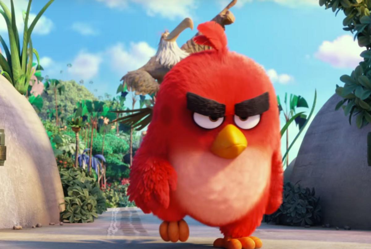 """Дублированный тизер-трейлер мультфильма """"Angry Birds в кино"""""""
