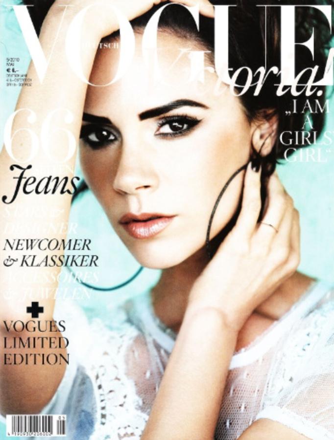 Виктория Бэкхем в журнале Vogue Германия. Май 2010