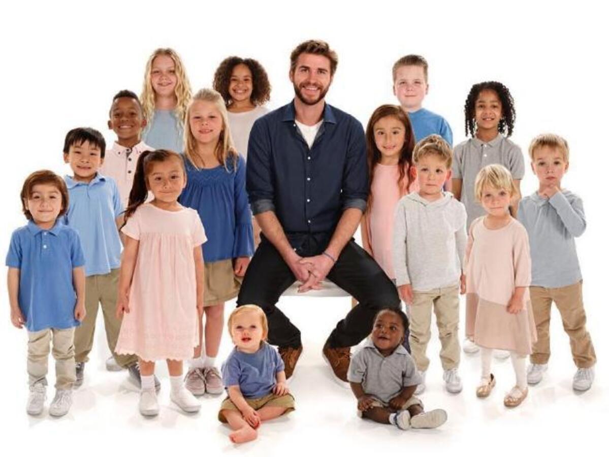 Лиам Хемсворт  стал представителем благотворительного фонда  Brave Beginnings Charity
