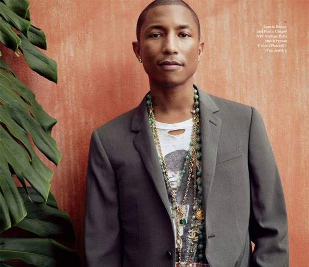 Фаррелл Уильямс в журнале Ebony. Ноябрь 2014