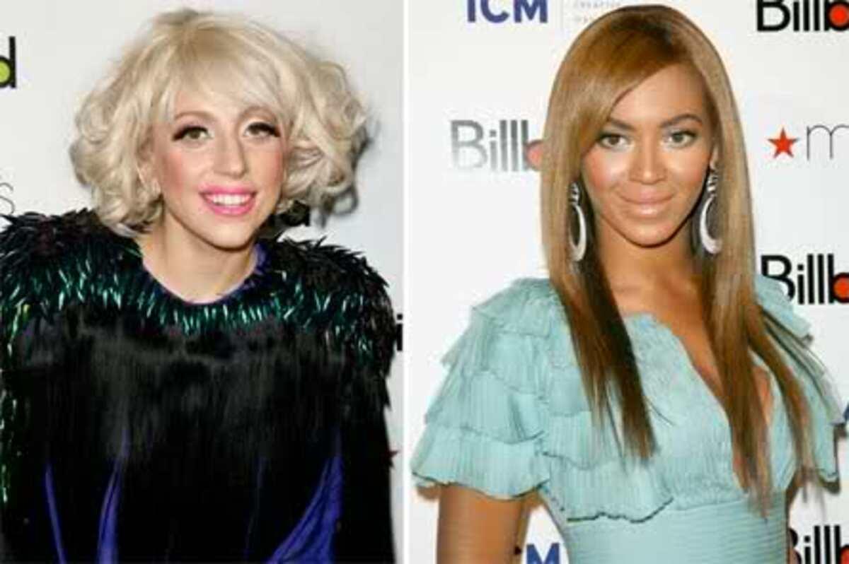 Lady Gaga против Бейонсе