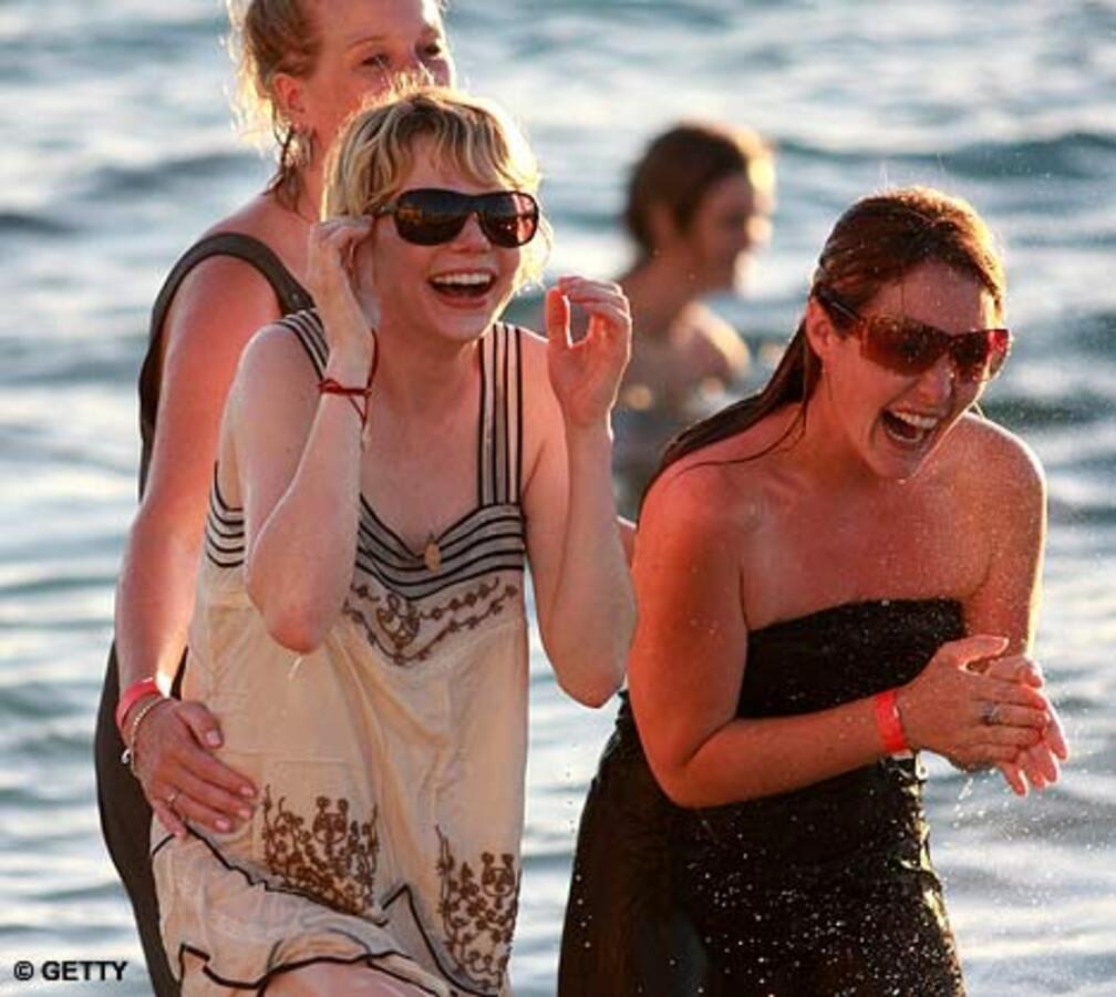 После похорон Хита Леджера все гости прыгнули в воду