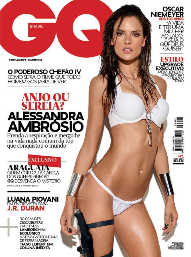 Алессандра Амбросио в журнале GQ Brasil. Апрель 2011